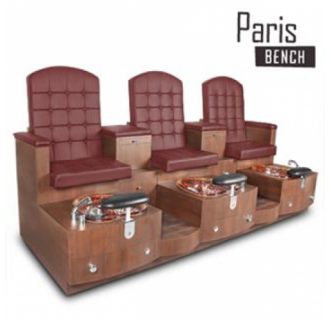 GU-PARIS TRIPLE  BENCH