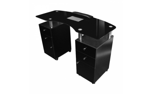 JA- GLASSTOP NAIL TABLE